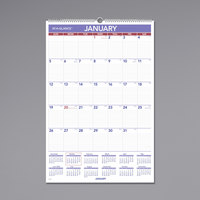 At-A-Glance PM428 20 inch x 30 inch Monthly January 2020 - December 2020 Wirebound Wall Calendar