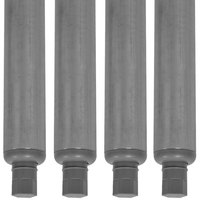 Advance Tabco K-497A Galvanized Steel Leg - 4/Set