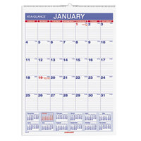 At-A-Glance PM128 8 inch x 11 inch Monthly January 2018 - December 2018 Wirebound Wall Calendar