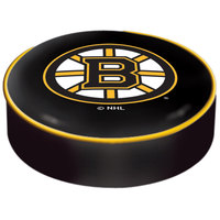 Holland Bar Stool BSCBosBru 14 1/2 inch Boston Bruins Vinyl Bar Stool Seat Cover