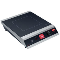 Hatco IRNG-PC1-18 Rapide Cuisine Stainless Steel / Black Countertop Induction Range / Cooker - 120V, 1800W