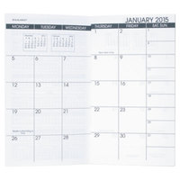 At-A-Glance 7090610 3 1/2 inch x 6 1/8 inch Pocket Size Monthly 2019 - 2020 Planner Refill