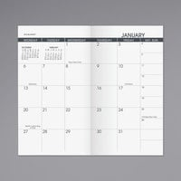 At-A-Glance 7090610 3 1/2 inch x 6 1/8 inch Pocket Size Monthly January 2020 - January 2021 Planner Refill
