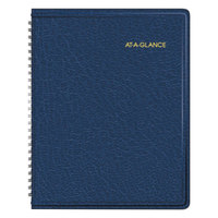 At-A-Glance 7012020 6 7/8 inch x 8 3/4 inch Navy January 2019 - December 2019 Monthly Planner