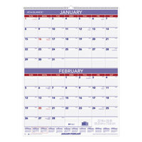 At-A-Glance PM928 22 inch x 29 inch 2-Month Reference January 2019 - December 2019 Wirebound Wall Calendar