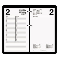 At-A-Glance E21050 4 1/2 inch x 8 inch White 2019 Large Desk Calendar Refill