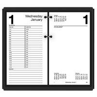 At-A-Glance E21050 4 1/2 inch x 8 inch White 2021 Large Desk Calendar Refill