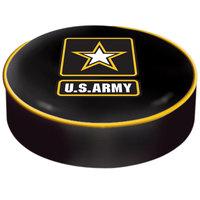 Holland Bar Stool BSCArmy 14 1/2 inch United States Army Vinyl Bar Stool Seat Cover