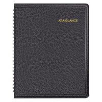 At-A-Glance 7012005 6 7/8 inch x 8 3/4 inch Black January 2019 - December 2019 Monthly Planner