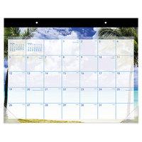 At-A-Glance DMDTE232 22 inch x 17 inch 2020 Tropical Escape Desk Pad