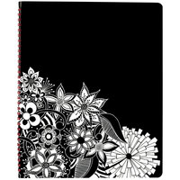 At-A-Glance 589905 Floradoodle 9 3/8 inch x 11 3/8 inch Professional January 2020 - January 2021 Weekly / Monthly Appointment Book
