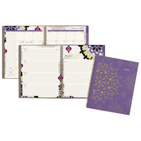 At-A-Glance 122905 Vienna 8 1/2 inch x 11 inch Purple January 2020 - December 2020 Weekly / Monthly Planner