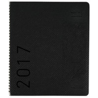 At-A-Glance 70260X45 8 7/8 inch x 11 inch Graphite January 2019 - December 2019 Contemporary Monthly Planner with Premium Paper