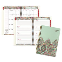At-A-Glance 182200 Marrakesh 5 3/4 inch x 8 1/8 inch January 2018 - December 2018 Weekly / Monthly Planner
