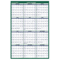 At-A-Glance PM31028 32 inch x 48 inch Green / White Vertical Erasable January 2020 - December 2020 Wall Planner