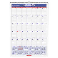 At-A-Glance PM228 12 inch x 17 inch Monthly January 2019 - December 2019 Wirebound Wall Calendar
