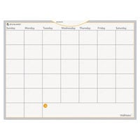 At-A-Glance AW502028 WallMates 18 inch x 24 inch Self-Adhesive Dry Erase Monthly Planning Surface