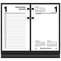 At-A-Glance E71750 3 1/2 inch x 6 inch January 2021 - December 2021 Desk Calendar Refill