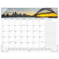At-A-Glance DMD14532 22 inch x 17 inch Monthly January 2020 - December 2020 Harbor Views Desk Pad Calendar