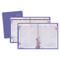 At-A-Glance 938P200 4 7/8 inch x 8 inch Purple January 2017 - January 2018 Weekly / Monthly Appointment Book