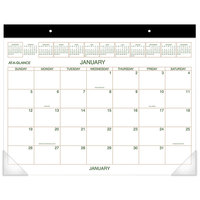 At-A-Glance GG250000 22 inch x 17 inch Monthly January 2020 - December 2020 Two-Color Desk Pad Calendar