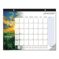 At-A-Glance SKW80000 22 inch x 17 inch 2019 Successories Motivational Desk Pad