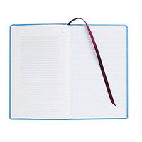 Adams ARB712CR1 7 5/8 inch x 12 1/8 inch Blue 150-Page Ledger Book