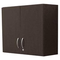 Alera Plus AAPBR181ES 36 inch x 14 inch x 30 inch Espresso Hospitality Wall Cabinet with Two Doors