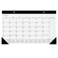 At-A-Glance SK14X00 17 3/4 inch x 10 7/8 inch Monthly January 2020 - December 2020 Compact Contemporary Desk Pad
