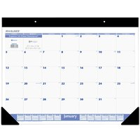 At-A-Glance SW20000 22 inch x 17 inch White Monthly January 2020 - December 2020 Desk Pad Calendar
