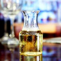 Fineline 6417 Tiny Temptations 7.5 oz. Clear Mini Wine Pitcher / Carafe - 6/Pack