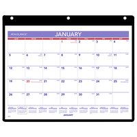 At-A-Glance SK800 11 inch x 8 1/4 inch Monthly January 2020 - December 2020 Desk / Wall Calendar