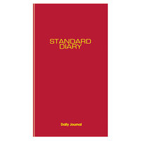 At-A-Glance SD37713 7 11/16 inch x 12 1/8 inch Red 2018 Daily Journal