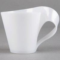 Fineline 6400-WH Tiny Temptations 2.7 oz. Tiny Tonics White Plastic Cup - 8/Pack
