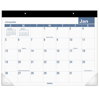 At-A-Glance SKLP2432 22 inch x 17 inch Easy-To-Read Monthly January 2020 - December 2020 Desk Pad Calendar