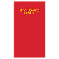 At-A-Glance SD37613 7 11/16 inch x 12 1/8 inch Red 2017 Daily Business Diary