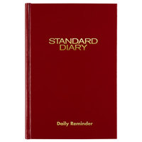 At-A-Glance SD38713 5 inch x 7 1/2 inch Red 2020 Daily Reminder Diary
