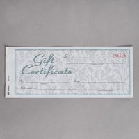 Adams GFTC1 2-Part Carbonless Gift Certificate with Envelope - 25/Pack