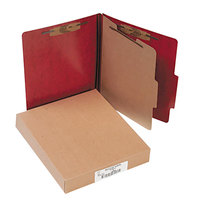 Acco 15004 Letter Size Classification Folder - 10/Box