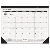At-A-Glance SK2400 22 inch x 17 inch Monthly January 2018 - December 2018 Desk Pad Calendar