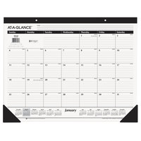 At-A-Glance SK2400 22 inch x 17 inch Monthly January 2019 - December 2019 Desk Pad Calendar
