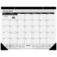 At-A-Glance SK2400 22 inch x 17 inch Monthly January 2020 - December 2020 Desk Pad Calendar