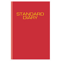 At-A-Glance SD37413 7 1/2 inch x 9 7/16 inch Red 2018 Daily Reminder Diary