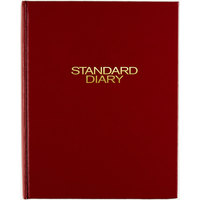At-A-Glance SD37413 7 1/2 inch x 9 7/16 inch Red 2020 Daily Reminder Diary