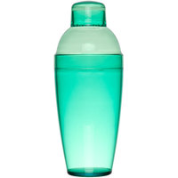 Fineline 4103-GRN Quenchers 14 oz. Green Plastic Shaker