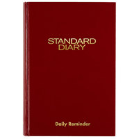 At-A-Glance SD38913 5 5/8 inch x 8 3/8 inch Red 2020 Daily Reminder Diary