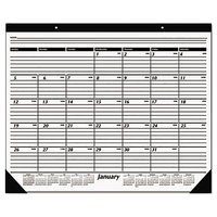 At-A-Glance SK3000 24 inch x 19 inch Monthly January 2019 - December 2019 Desk Pad Calendar