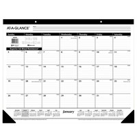 At-A-Glance SK3000 24 inch x 19 inch Monthly January 2020 - December 2020 Desk Pad Calendar