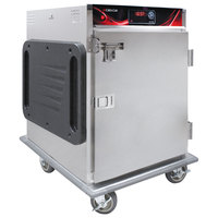 Cres Cor H-137-SUA-6D-SD Insulated Half Height Stainless Steel Super-Duty Holding Cabinet - 120V, 1000W