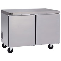 Delfield GUR48P-S 48 inch Undercounter Refrigerator with 5 inch Casters